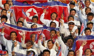 Football gives North Korea a stable public image