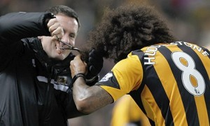 Buy a chunk of Tom Huddlestone's hair in aid of Cancer Research