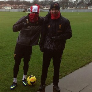 Photo: Good signs for Liverpool fans as Sturridge returns to training