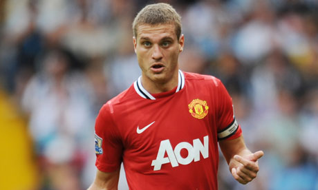 Who will succeed Nemanja Vidic as Manchester United captain?