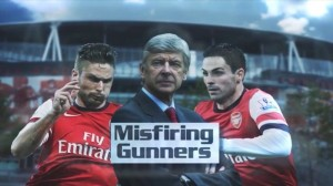 Football Dynamics - Misfiring Gunners