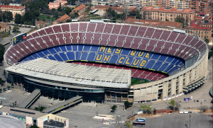 A dark and surreal day in Camp Nou that will live long in Catalan history