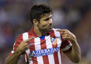 The explosive Diego Costa has excelled in attack this season. He now appears London-bound.