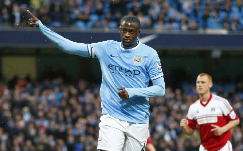 Yaya Toure - best by far