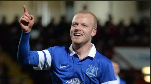 Steven Naismith - the central winger