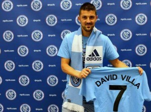 NYCFC signals intent with David Villa capture