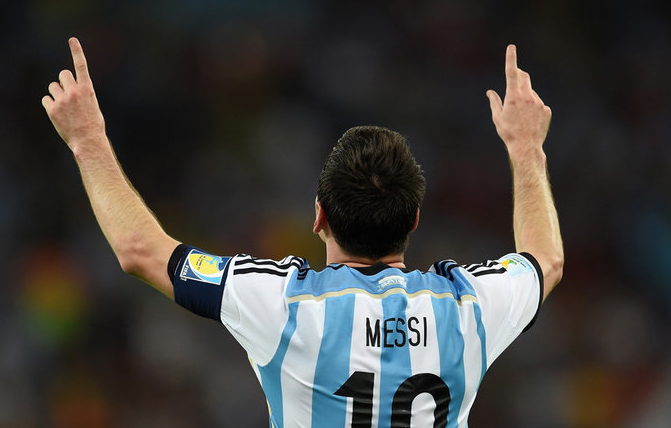 Messi Argentina World Cup