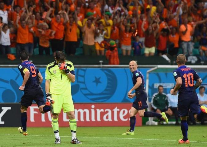Spain Holland Casillas