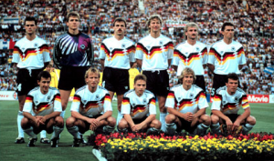 Uber cool – 1990 World Cup winners West Germany