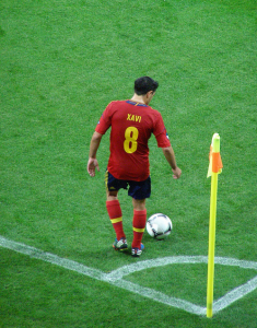 Midfielder Xavi's era as the heartbeat of the Spanish team is surely at an end.