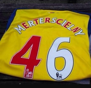 Arsenal fan gets the worst jersey ever