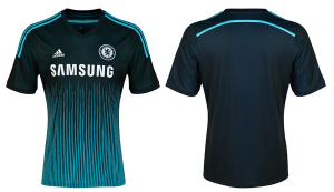 Chelsea's new third kit has a lot of lines