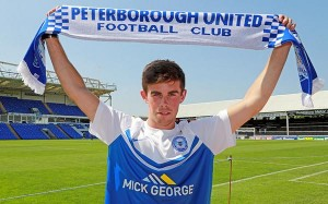Ireland's Gareth Bale signs for Peterborough Utd