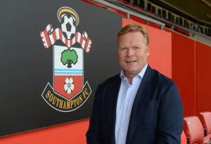 Pic: Koeman pokes fun at Southampton's lack of players
