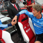 Big gloves to fill - Joe Van Der Sar