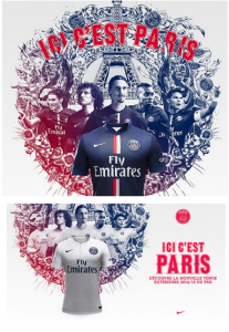Cavani airbrushed out of PSG promo shots