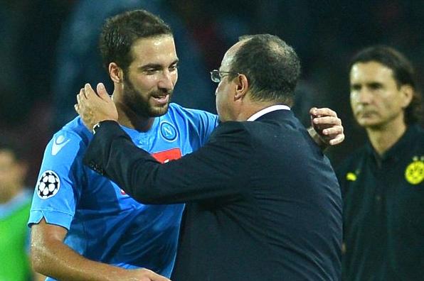 Napoli Higuain Benitez