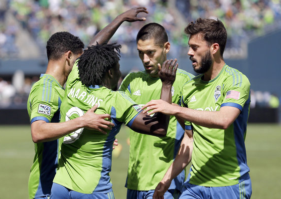 Seattle Sounders Dempsey Martins