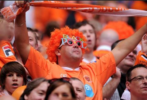 Blackpool fan