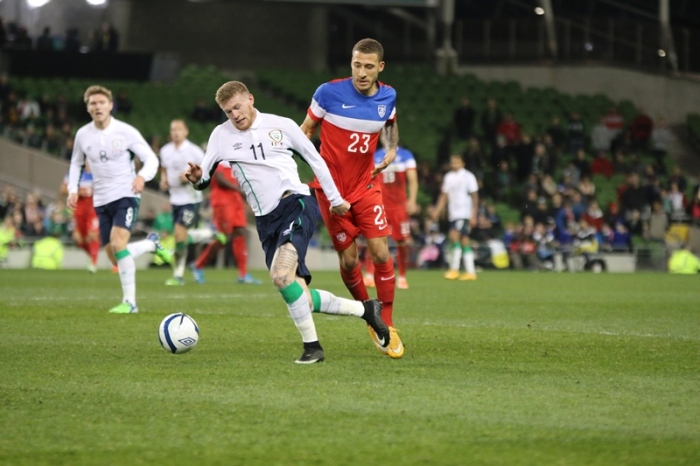 James McClean Ireland USA