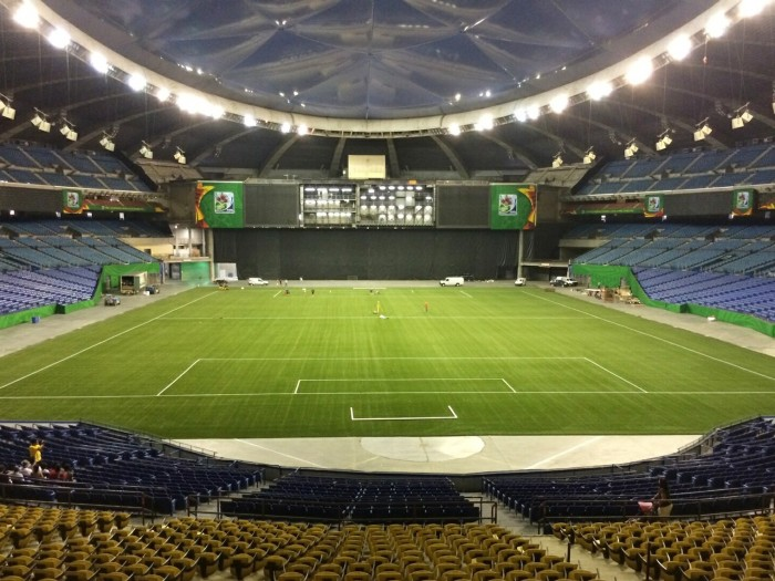 Montreal's Olympic Stadium has a synthetic surface and will host Women's World Cup matches