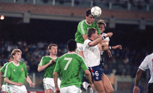 Ireland versus England - The quest for footballing approval