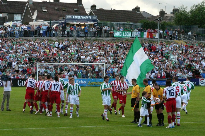 Cork City face Red Star Belgrade in 2007