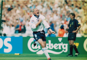My first footballing memory - Paul Gascoigne and Scotland