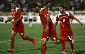 War-torn and without a home - Syria's footballers finding success amidst a crisis
