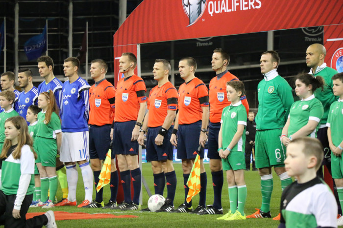 Ireland Bosnia anthems