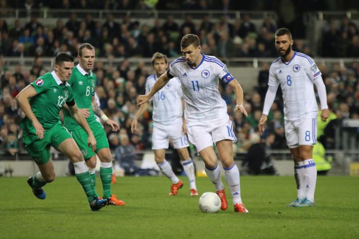 Ireland Bosnia Edin Dzeko
