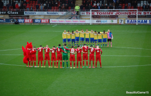 Your dad is a legend - Leyton Orient FC v Staines Town FC