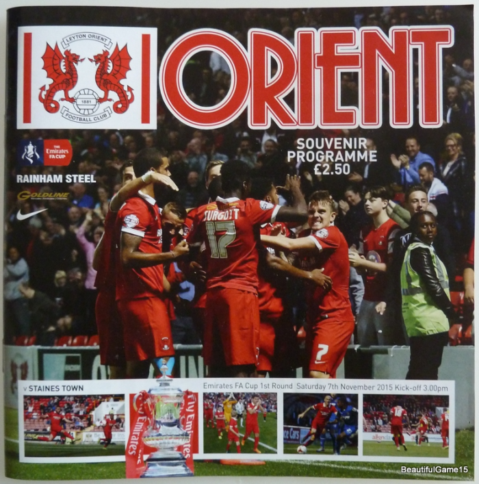 Leyton Orient programme