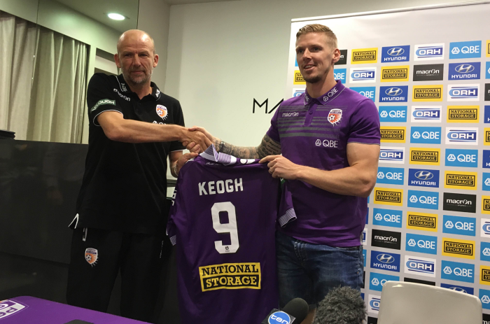 Andy Keogh Perth Glory