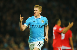 Dazzling De Bruyne continues to impress at Manchester City