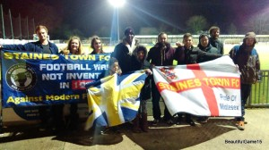 It's like Barbados here - Staines Town FC v Farnborough FC - Part Two