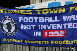 It's like Barbados here - Staines Town FC v Farnborough FC - Part One