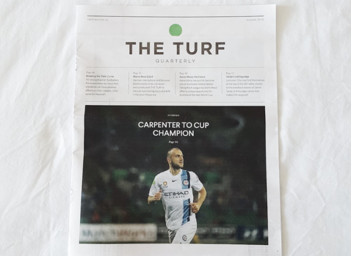 Turf Quarterly magazine
