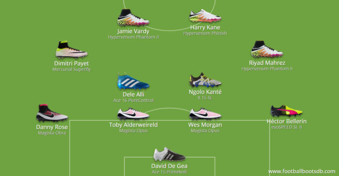 Boots Premier League Team of the Year