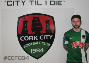 Seani Maguire intent on proving himself at Cork City