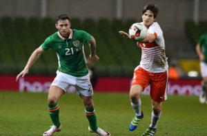 Murphy sings praises of fellow strikers as he looks to get off the mark