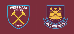 Pic: West Ham United's new stripped down club crest