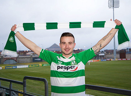 Shamrock Rovers star taking break from football to battle depression