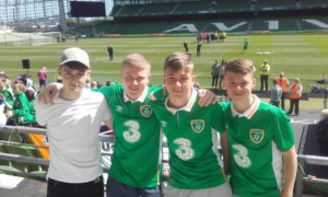 Clark and Duffy feeling confident as fans enjoy open training at the Aviva