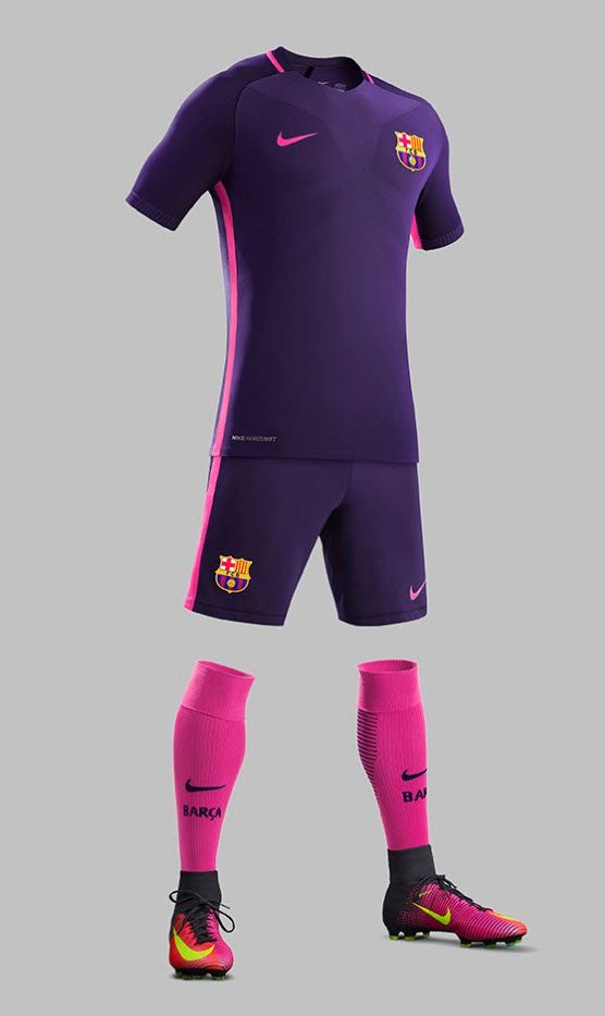 Barcelona Away Kit 2016