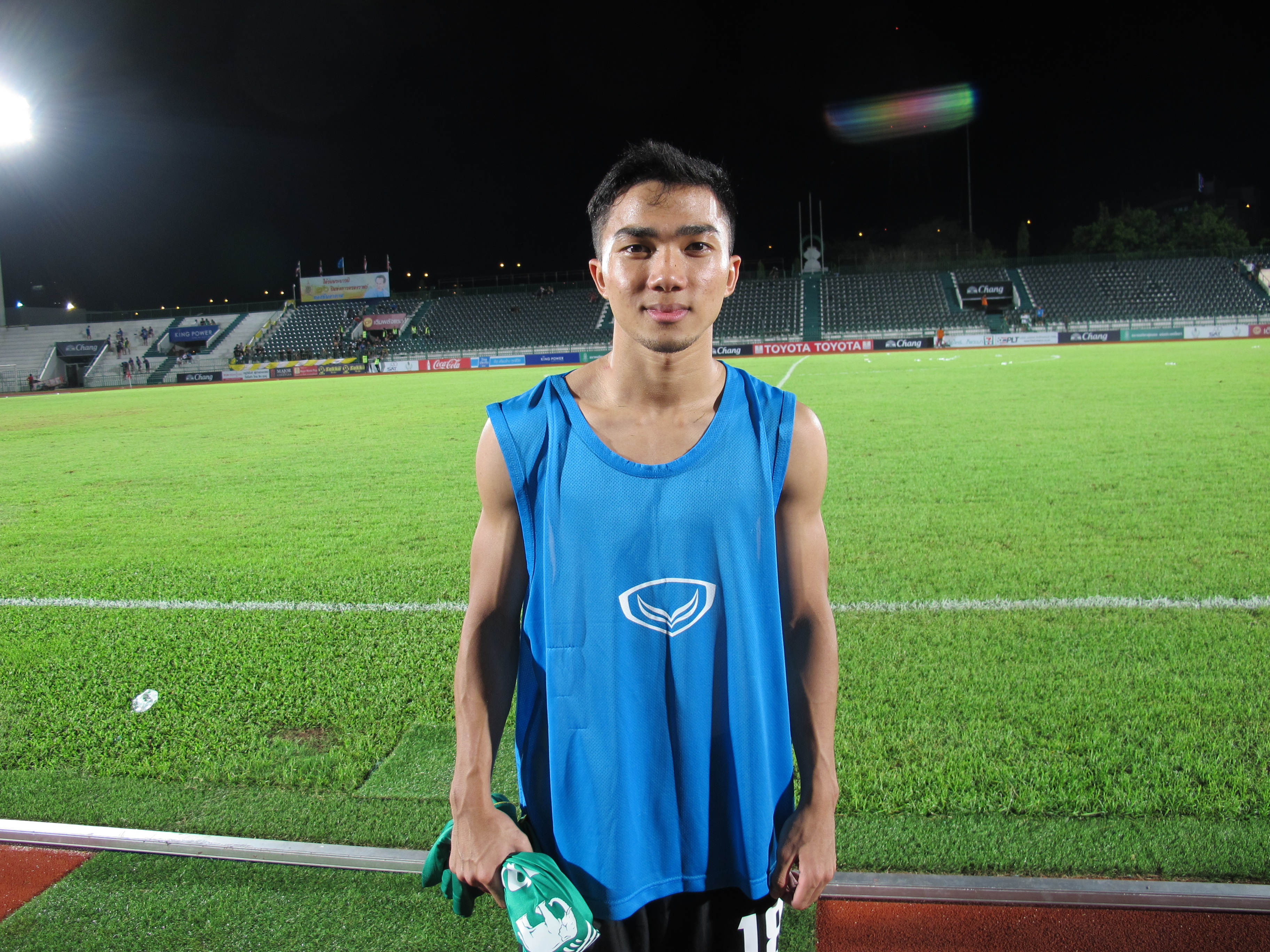Muangthong United's Chanathip Songkrasin