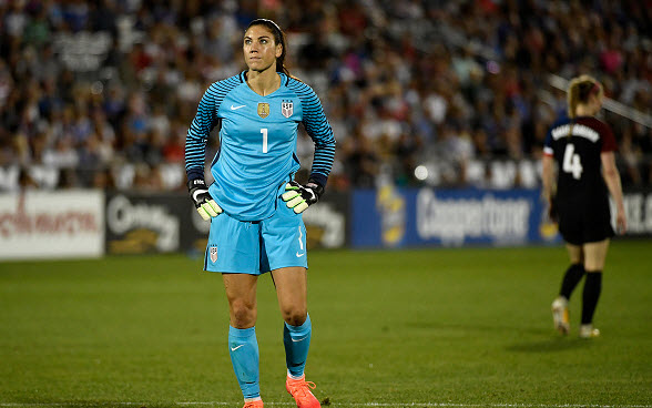 Olympics fallout - U.S. Soccer suspends women's goalkeeper Hope Solo for six months