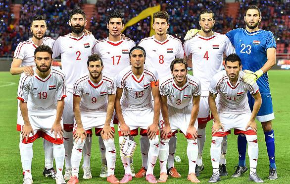 Os heróis de uma nação. A seleção da Síria pode fazer história enquanto o país está em guerra