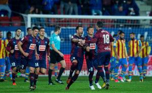 Eibar's La Liga problems have them staring danger in the eye