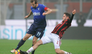 Davide Calabria the leading light as Milan overcome Lazio